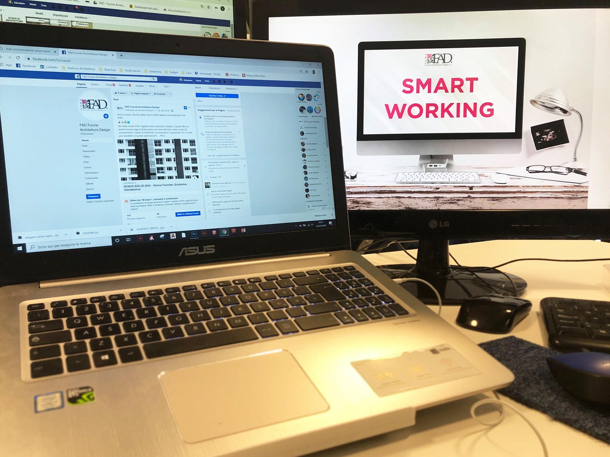 Smart working FAD Roma